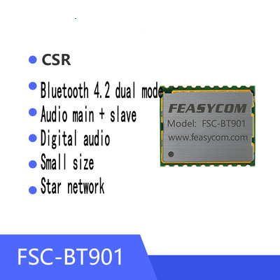Low Power Bluetooth Module With Small Size 10*12 Audio+Data Transmission At High Speed