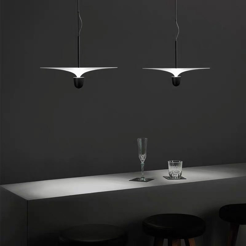 Nordic Artistic Led Aluminum Dandelion Chandelier Golden Hanging Lamps Decorative Fixture Lighting Led Home Lights lustre Pendant Lights     - title=