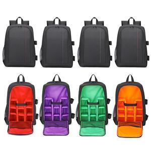 Image 5 - Unisex Travel Camera Backpack Waterproof Digital DSLR Photo Padded Bag Laptop 15.6inch Multi functional Soft Video Rucksack