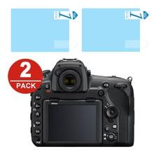 2x ЖК-дисплей Экран протектор Защитная пленка для Nikon Z6 Z7 Z50 D500 D850 D750 Z5 D7500 D7200 D810 D800 D610 D3500 D3400 D5600 D5500