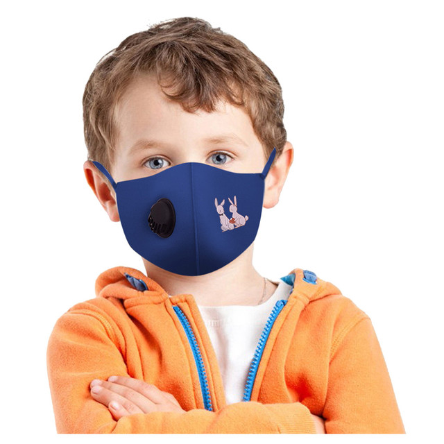 3pcs Kids Outdoor Protect Mask Safety Reusable Washable Protect Face Mask Adjustable Dustproof Mouth Mask#3 6