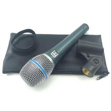 ตำนาน Vocal Dynamic Beta87 Beta 87 โหมดไมโครโฟนแบบใช้มือถือคาราโอเกะพูด SM 57 58 Beta58 E945 E845 การบรรยาย Mics