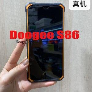 Image 2 - Per Doogee S86 vetro temperato protettivo su DoogeeS86 6.1NCH pellicola salvaschermo per smartphone