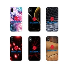 Aksesoris Ponsel Case Penutup untuk Apple Iphone X XR XS 11Pro Max S 5 4S 5 5C Se 6 S 7 8 PLUS IPod Touch 5 Suzuki Gsxr GSX R Logo(China)