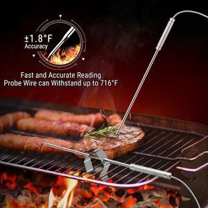 Image 3 - ThermoPro TP 08S termómetro de cocina inalámbrico remoto para alimentos BBQ remoto, ahumador, parrilla, horno, carne monitoriza alimentos a partir de 300 pies de distancia