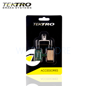 Image 2 - Tektro E10.11 mtbブレーキパッド山道折りたたみ自転車用ディスクブレーキパッドシマノMT200/M355//M395/m415/M285/M286/M280