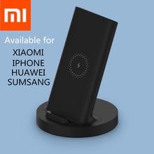 Xiaomi mijia הרשמי שדרוג אלחוטי תשלום מהיר 20W מקסימום סטריאו מטען עבור iPhone סמסונג huawei redmi נייד טלפון אוניברסלי