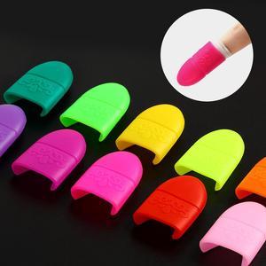 Image 3 - COSCELIA 10pcs נייל אמנות ג ל לק מסיר לעטוף ציפורניים טיפים ג ל לכה מסיר מניקור כלים טיפים UV ג ל לספוג את כובע