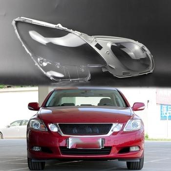 Para Lexus GS GS300 lente faro transparente cubierta faro transparente pantalla Estuche para gafas shell GS430 GS450h GS460 2004-2011