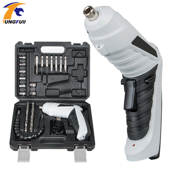 1Set 3.6V Cordless Power Drill Electric Screwdriver Rechargeable Screw Driver Kit Maximum Screw Diameter ABS Makings drill driver rechargeable sturm cd3212l