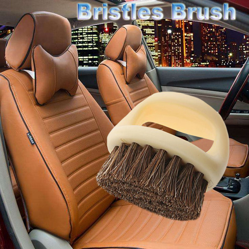 Exterior Leather YUN HOME Car Cleaner Brush Auto Detail Brush Set with Cleaning Mitts Microfiber Towels and Wax Sponge for Cleaning Wheels Interior Air Vents Motorcycle 14 Pcs Car Detailing Brush Kit