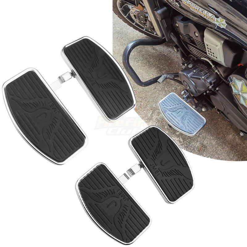 Черные мотоциклетные Регулируемые задние пассажирские Передние Подножки для водителя подножки для ног напольные универсальные