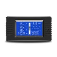 SHGO HOT-0-200V 300A Voltmeter Ammeter Digital Battery Tester Built-In Shunt Capacity Resistance Electricity Voltage Meter Monit