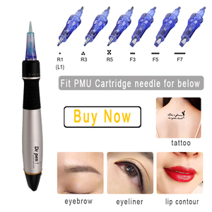 Image 5 - Derma pen Dr. Pen A1 C Permanente Cosmetische Make up Machine microblading Wenkbrauw Eyeliner Lip micro Naald Cartridge dr Pen Bedrade