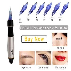 Image 5 - Stylo Derma Dr. Stylo A1 C Machine de maquillage cosmétique permanente microblading sourcil Eyeliner lèvre micro aiguille cartouche dr stylo câblé