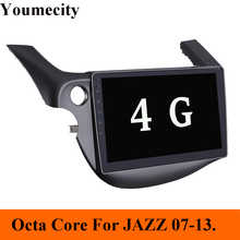 4GRAM/Eight Core/Android 8.1 Car Multimedia dvd Player For HONDA FIT JAZZ 2007-2013 Radio Video Audio Wifi 4G/New Arrival - DISCOUNT ITEM  59% OFF Automobiles & Motorcycles