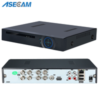 New 5MP AHD DVR 4K NVR Digital Video Recorder for CCTV Security Camera Onvif Network 16Channel IP 1080P 4MP 3MP