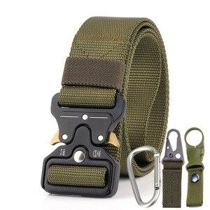 Image 3 - Military Uniform Belt Tactical Clothes Combat Suit Accessories Outdoor Tacticos Militar Equipment Army Clothing Waist Belt