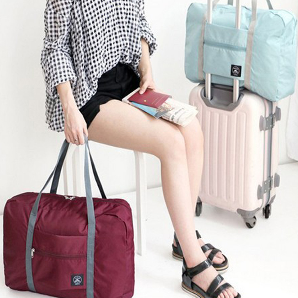 Women Luggage Bag Travel Bags Large Capacity Fashion Traveling Bag For Man Women Bag Carry On Luggage Bag Cloth Storage Package