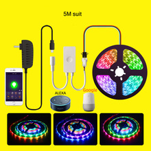 WIFI Smart Lights With RGB LED 5050 DC12V Neon Waterproof Flexible LED12V Home Decoration