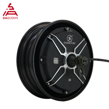 QS Motor 10*2.15inch 2000W 205 50H V2 65kph Best-selling Low Power eElectric Scooter BLDC Motor in Wheel Hub Motor image