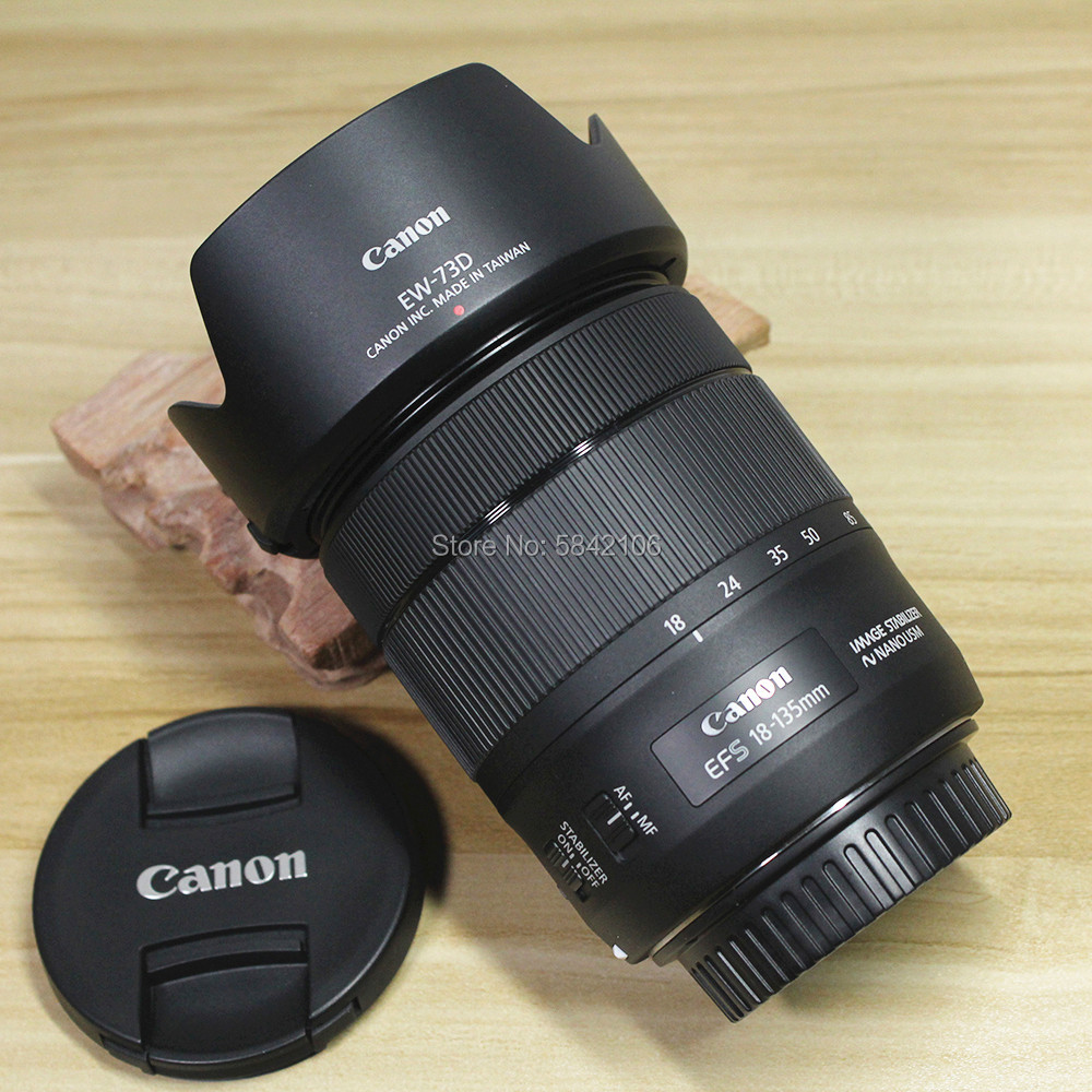 <font><b>Canon</b></font> EF-S 18-<font><b>135mm</b></font> f/3.5-5.6 IS USM Lens For <font><b>CANON</b></font> EOS 80D 70D 77D 800D 750D 760D 200D 1300D 1500D 4000D 3000D image