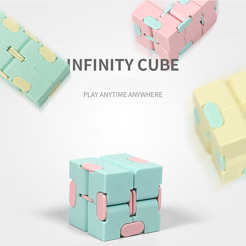 7 Pack Fidget Sensory Toy Set Stress Relief Toys Autism Anxiety Relief Stress Infinity Cube Fidget Sensory Toy for Kids Adults img4
