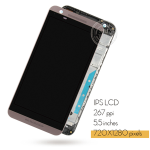 Image 2 - For HTC One E9S E9ST E9SW Black Touch Screen Digitizer Panel Glass Sensor + LCD Display Panel Monitor Module Assembly 100% Test