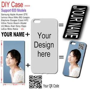 Capa de telefone para tecno camon 11s 12 15 ar 15 pro/spark4 5 3 pro impressão personalizada foto nome capa para infinix quente 8 9 7lite note5 6