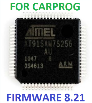Processor for Carprog AT91SAM7S256-AU (B) firmware 8.21 online