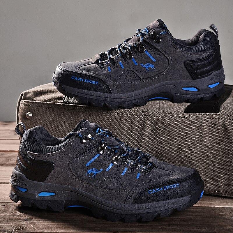 Mens Hiking Shoes Outdoor Trekking Mountain Climbing Waterproof Sneakers Size 10