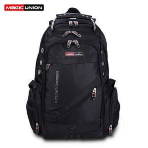 Travel-Bag Swiss Backpack Magic Union Design Waterproof Men's Brand Polyester Man