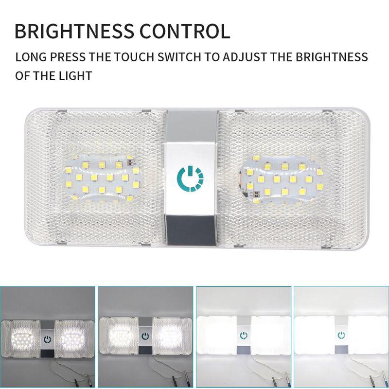 teto dome luz rv interior luzes de 05