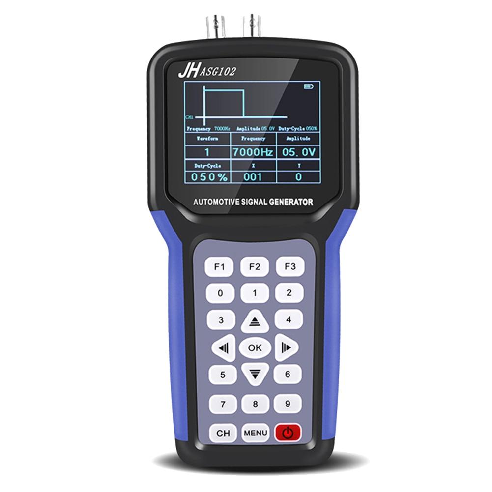 Handheld Signal Generator Digital Display 2 Channel Car Test Tool Auto Supplies PUO88