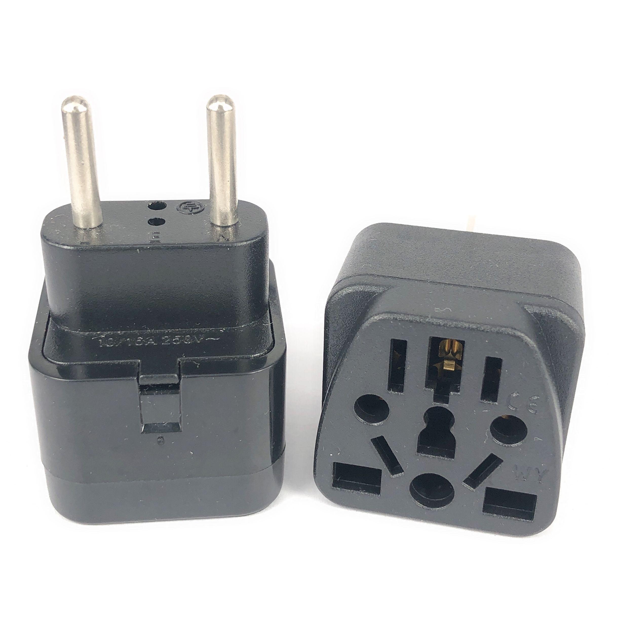 Универсальный дорожный адаптер для зарядного устройства, Италия, Швейцария, Индия, Сингапур, Малайзия, США, Великобритания, Австралия в ЕС, р...