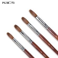 KADS маникюрная кисть Kolinsky Акриловые Соболь кисти для ногтей акриловые кисти для дизайна ногтей набор для ногтей Удлинительный УФ-гель инструменты для строительства