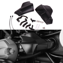 For BMW R NINET R9T R 9 T R NINE T 2013 2014 2015 2016 2019 Injection Cover ABS Plastic Injector connections Guard Matt Black
