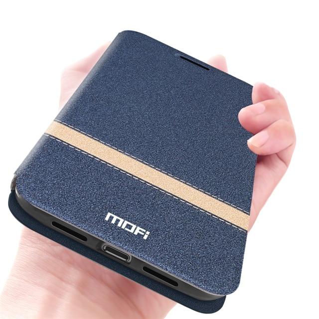 MOFi For Meizu 16th Case Cover for Meizu 16th Plus Coque Phone Case For Meizu16x Housing TPU PU Leather Book Stand Folio Shell