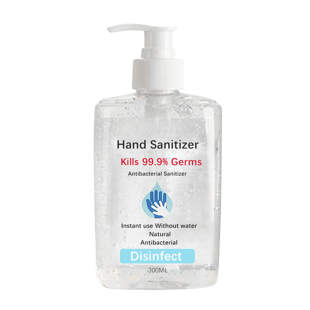 300ML Alcohol-Free Bacteriostatic Portable Mini Portable Hand Sanitize No-wash Hand Gel Portable Hand Cleaner Dropshipping #30