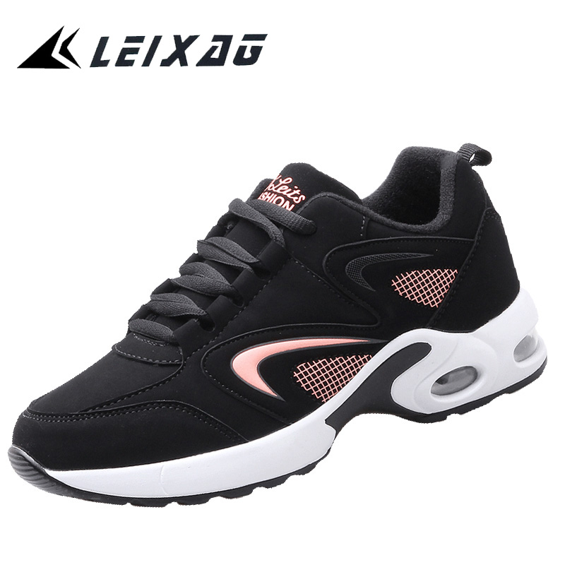 LEIXAG Air Cushion Women Running Sport Shoes Height Increasing Walking Shoes Athletic Shoes Jogging Sneakers Women