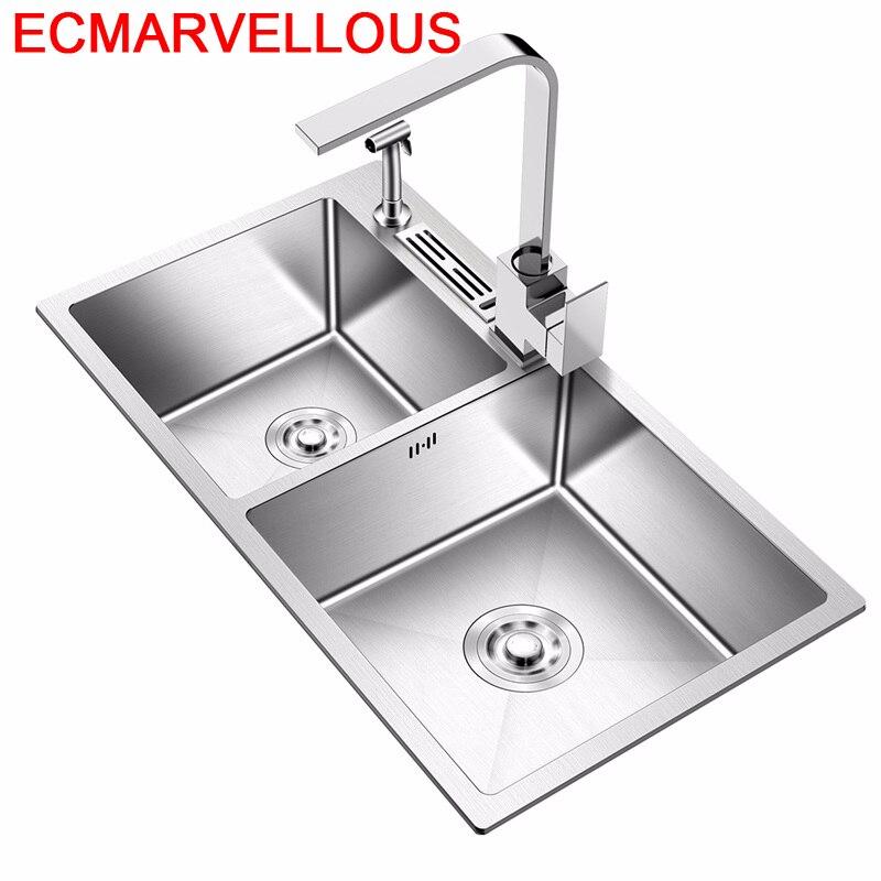 Spoelbak Stainless Steel Evier Afwasbak Lavandino Faucet Lavello Cucina Cuba Pia Cozinha De Cocina Fregadero Kitchen Sink