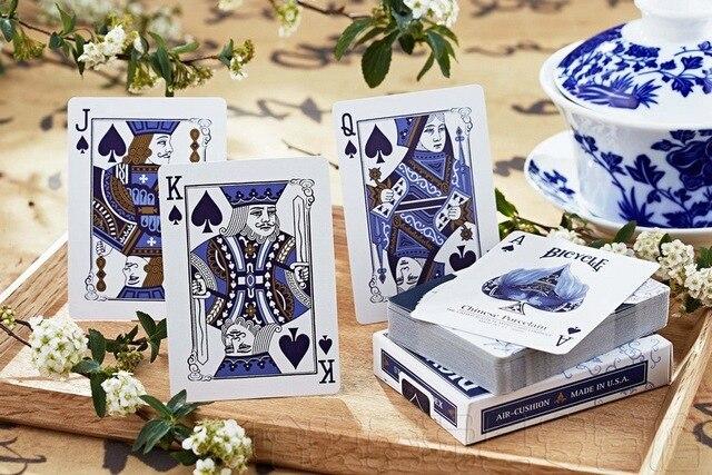 Vélo opéra cartes à jouer porcelaine pont chinois élément Poker USPCC jeux de cartes magiques tours de magie accessoires pour magicien