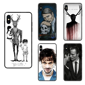 Better Cool Graham Hannibal Mads Mikkelsen For Huawei P8 P9 P10 P20 P30 P40 P Smart Lite Plus Pro 2017 2019 Black Soft TPU Cell image