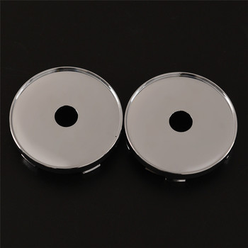 2PCs Plastic 60MM Tyre Replacement Wheels Car Van Alloy Wheel Center Hub Cap Sticker Accessories image