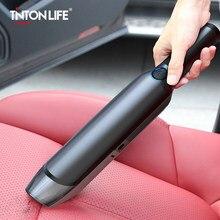 Aspirador de pó portátil sem fio, com sucção, recarregável, para carro, sem fio, molhado/seco, portátil, para casa