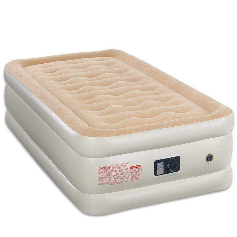 unica pessoa 99 203 45 cm construido na cama de ar da bomba portatil confortavel cama