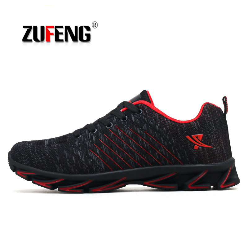 2019 Blade Warrior Cushioning Men Running Shoes Outdoor Wear-resistant Jogging Sports Shoes Breathable Walking Sneakers Big Size