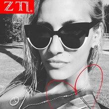 ZT Cat Eye Sunglasses Women Sun Glasses Fashion Ladies Vintage Female Triangle Sexy Retro Oculos De Sol Feminino UV400