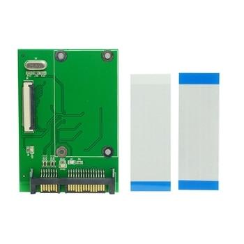 1.8 inch 40Pin ZIF/CE SSD HDD Hard Disk Drive to 7+15 22 Pin SATA Adapter Converter Board