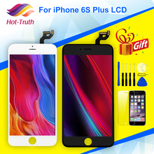 1Pcs Grade AAA LCD Screen and Digitizer Assembly For Apple iPhone 6S Plus A1634 A1687 A1699 5.5 Display+Free Tempered Glass+Tool